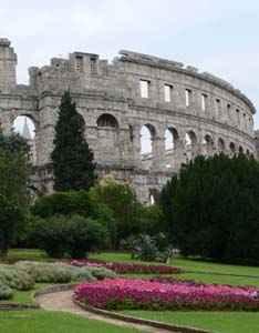 The Arena in Pula, Croatia